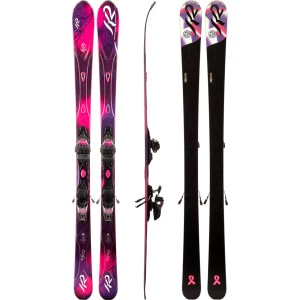 SuperFree Ski with Marker ER3 10.0 Binding - Women's