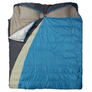Supernova Double-Wide Sleeping Bag: 30 Degree Down