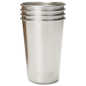 16oz. Steel Pint Cup - 4-Pack