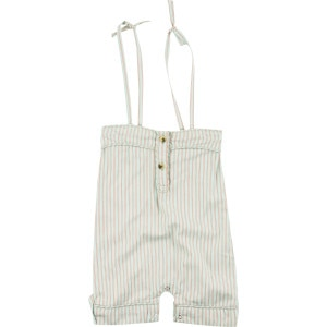 Spaghetti Strap Piped Jumpsuit - Infant Girls'