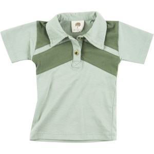 Retro Stripe Collar Shirt - Short-Sleeve - Infant Boys'