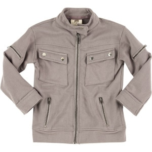 Motorcycle Jacket - Toddler Boys'