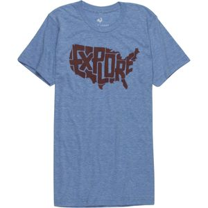 Explore USA Tri-Blend T-Shirt - Men's