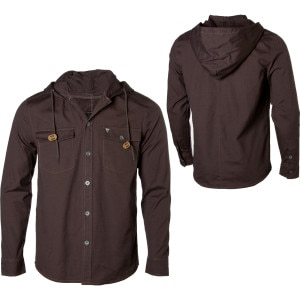 Lifetime Marunouchi Canvas Hooded Shirt - Long-Sleeve - Men's - 2010