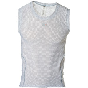 Mesh Carbon Sleeveless Base Layer