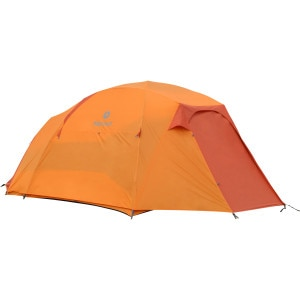 Capstone 6-Person Tent with Doormat and Hanging Organizer