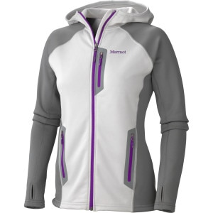 Power Stretch Fleece Hooded Jacket - Women's