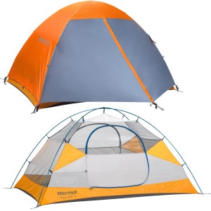 Traillight 2P Tent with Footprint: 2-Person 3-Season
