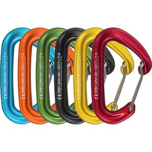 F.S. Mini Jet Carabiner Set - 6-Pack