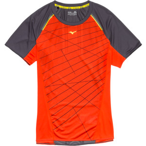 Mizuno Aero Shirt - Short-Sleeve - Men's