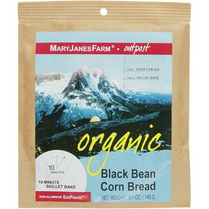Organic Black Bean Corn Bread