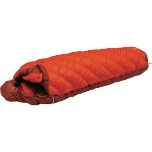 Super Spiral Burrow #0 Sleeping Bag: 0 Degree Synthetic