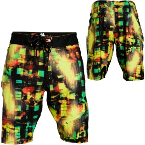Matix Ninja-Acidplaid Board Short - Men's - 2011