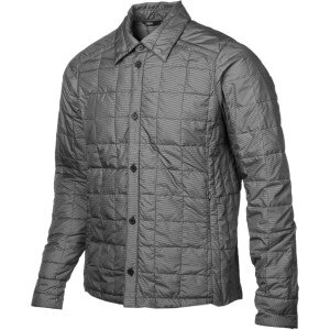 Down Shirt Check Jacket - Men's