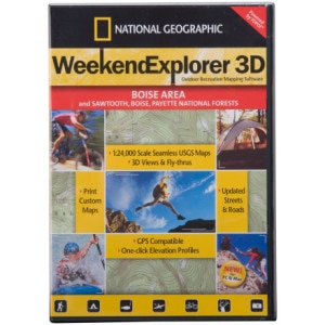 National Geographic Weekend Explorer 3-D CD-ROM