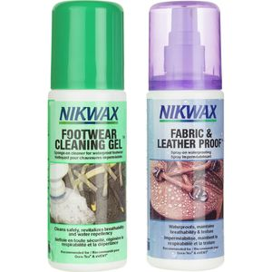 Fabric/Leather Proof and Cleaning Gel Duo-Pack - 125mL Spray