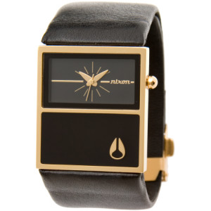 Nixon Chalet Leather Watch - Women's