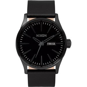 Sentry Leather Watch - Men's