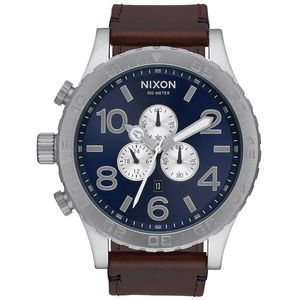 51-30 Chrono Leather Watch