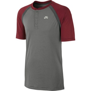 Nike SB Dri-Fit Touch Davis Henley Crew - Short-Sleeve - Men's