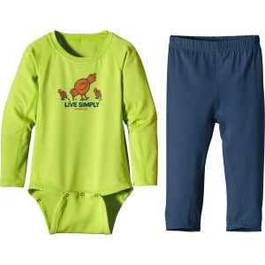 Patagonia Capilene 1 Silkweight Set - Infant Boys'