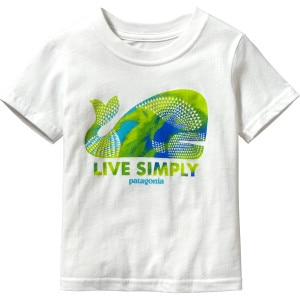 Patagonia Live Simply Geometric Whale T-Shirt - Short-Sleeve - Toddler Boys'