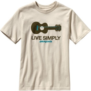Patagonia Live Simply Guitar T-Shirt - Short-Sleeve - Boys'