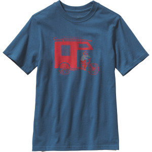 Patagonia Live Simply Trailer T-Shirt - Short-Sleeve - Boys'