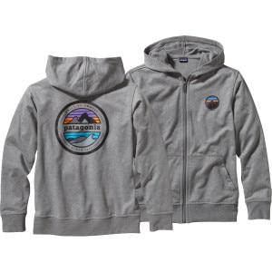 Patagonia Lightweight Phone Home Full-Zip Hoodie - Boys'
