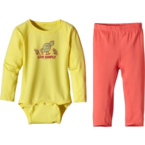 Patagonia Capilene 1 Silkweight Set - Infant Girls'