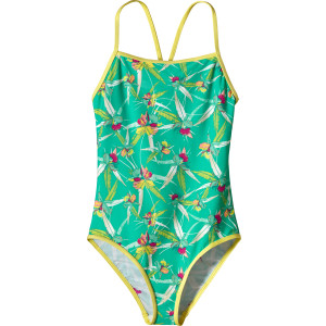Patagonia T-Back One-Piece Swimsuit - Girls'
