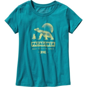 Patagonia Bear Moon T-Shirt - Short-Sleeve - Girls'
