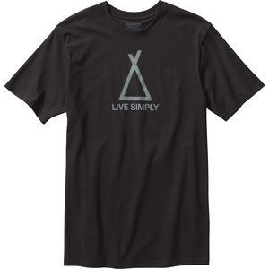 Live Simply Tent Life T-Shirt - Men's