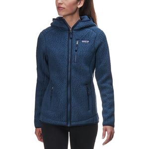 Retro Pile Hooded Jacket - Women's