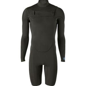 파타고니아 Patagonia R1 Lite Yulex Front-Zip Long-Sleeve Spring Suit - Mens,Black