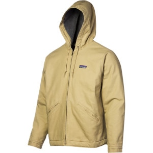Lined Canvas Full-Zip Hooded Jacket - Men's