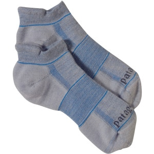 Patagonia Lightweight Merino Run Anklet Sock