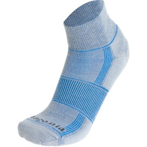 Lightweight Merino Run Quarter Sock