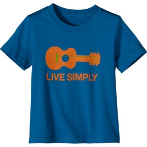 Live Simply Guitar T-Shirt - Short-Sleeve - Toddler Boys'