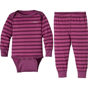 Capilene 3 Midweight Set - Toddler Girls'