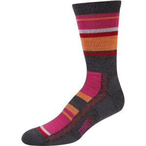 Multi Stripe Light Crew Sock - Women's