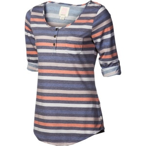 Dusk To Dawn Henley Shirt - 3/4-Sleeve - Women's