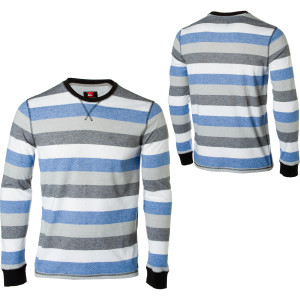 Quiksilver Snit Stripe Crew Shirt - Long-Sleeve - Men's - 2010