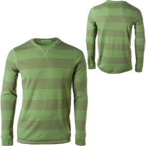 Quiksilver Snit Stripe Crew Shirt - Long-Sleeve - Men's - 2011