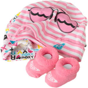 Roxy So Sweet Cap and Bootie Set - Infant Girls' - 2012