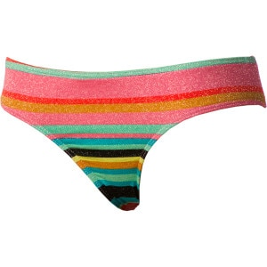 Roxy Wave Frenzy Cheeky Brief Bikini Bottom - Women's