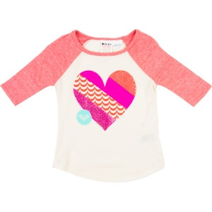 Live Love Shirt - 3/4-Sleeve - Toddler Girls'