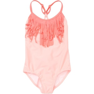 Wild & Free Sporty Fringe One-Piece Swimsuit - Girls'