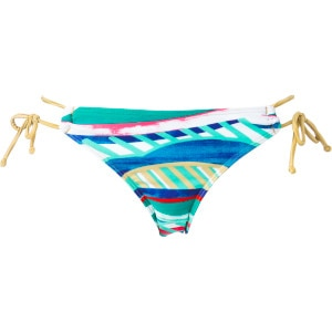 Golden Maze '70s Lowrider Tie Side Bikini Bottom - Women's