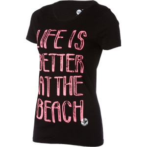 Better At The Beach T-Shirt - Short-Sleeve - Women's